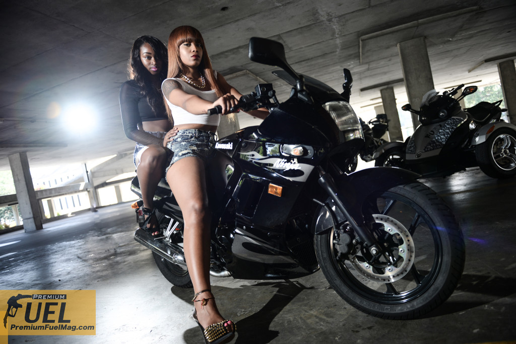 Alesia And Arlissa Ninja 250