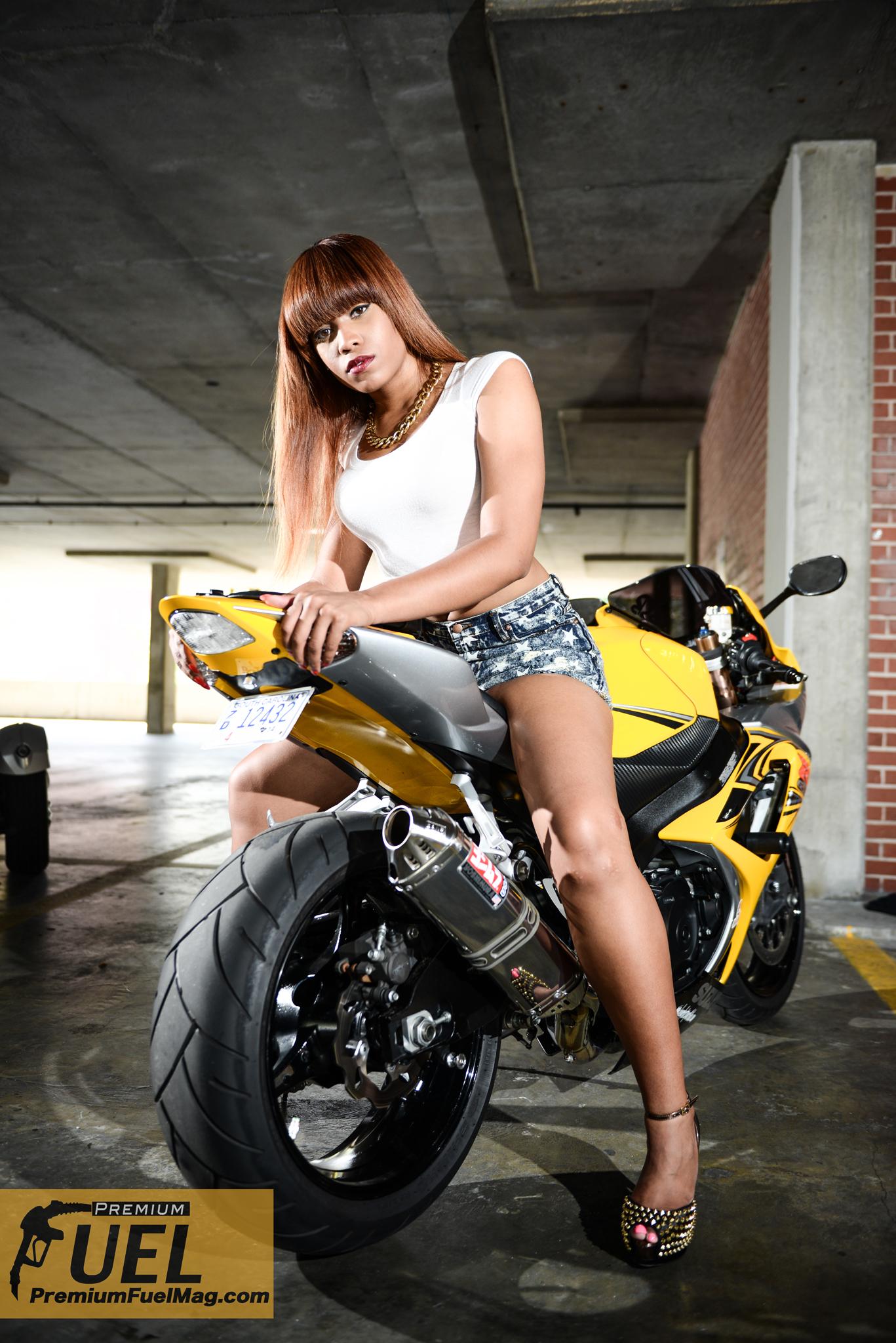 Model Feature: Alesia – Premium Fuel Magazine