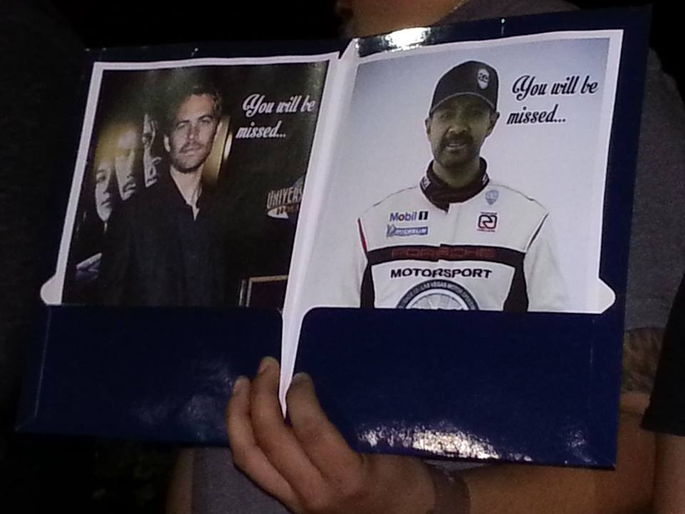 Paul Walker and Rodas