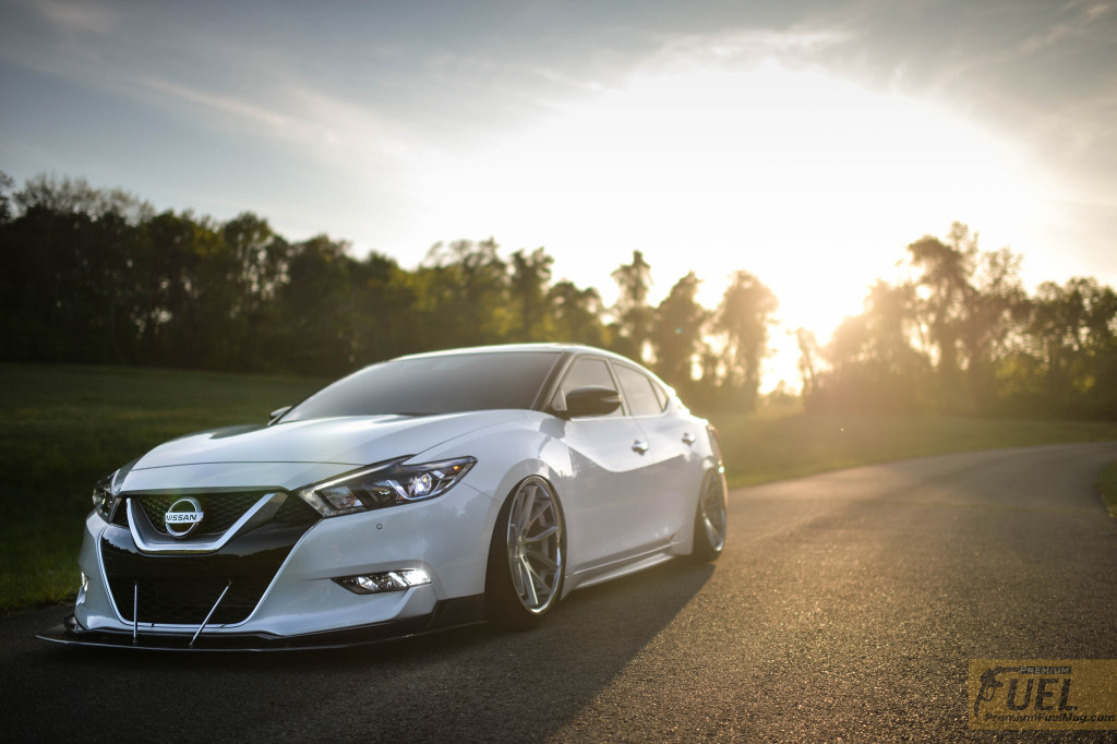 Bagged 8th Gen Maxima Premium Fuel Magazine